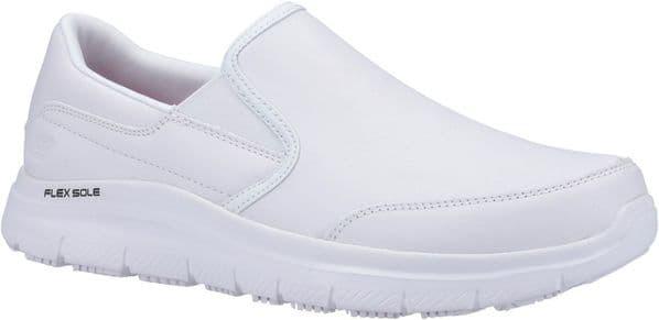 Skechers Flex Advantage Mens Occupational Footwear White